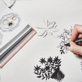 Dibuixant testos /Drawing flowerpots
